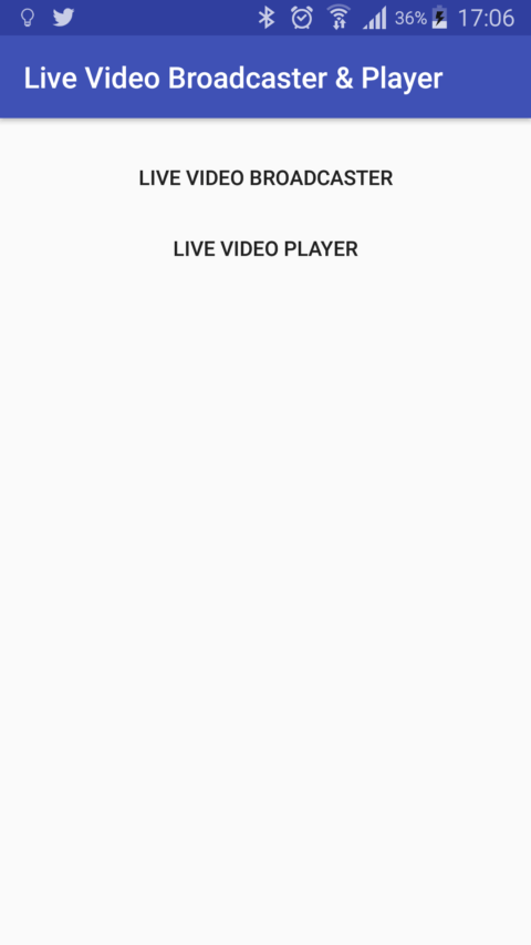 Live Video broadcaster Main Activity